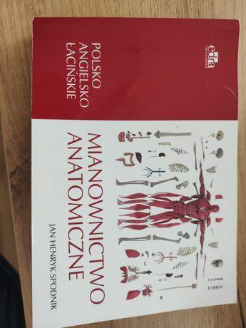 Mianownictwo anatomiczne - Jan Henryk Spodnik