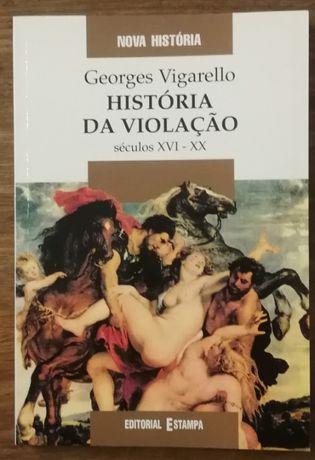 história da violação, georges vigarello, editorial estampa