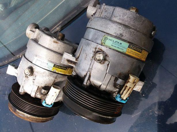 Компрессор и Трубки шланги кондиционера Opel Omega B.