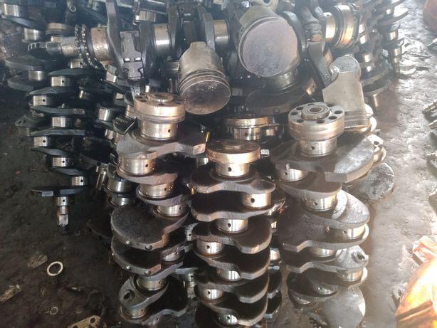 Коленвал вал ваз 2101, 2103, 21213, 2108 стандартные и проточенный
