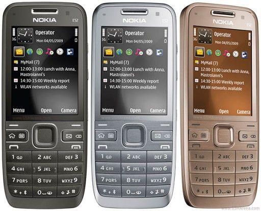 4 x NOWY telefon komórkowy NOKIA E52 TANIO!!! OKAZJA!!! AKTUALNE!!!