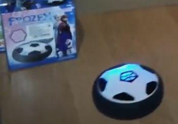 Летающий мяч-диск для аэрофутбола