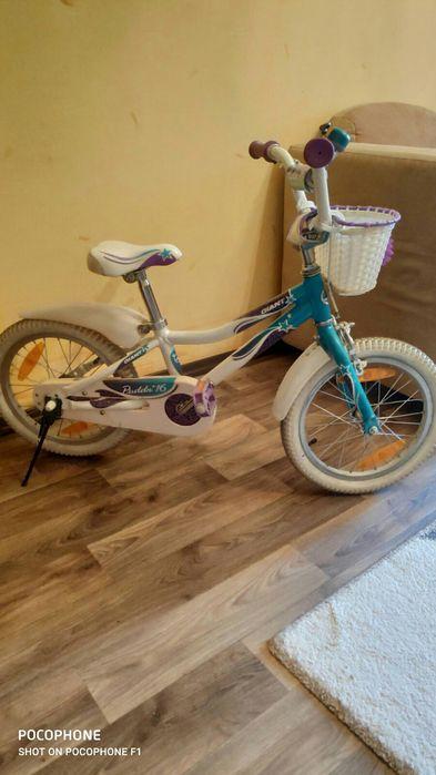 СРОЧНО!Велосипед Giant 16, алюминиевая рама Днепр - изображение 1