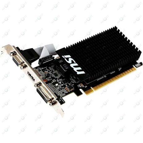 Магазин! Видеокарта MSI GeForce GT 710 2GB DDR3, 64бит, VGA, DVI, HDMI
