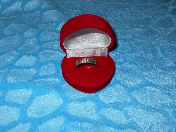 Srebrna obrączka pierścionek