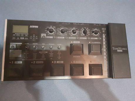 Pedaleira Korg Toneworks AX3000G