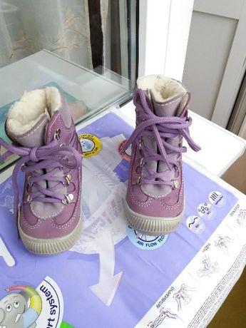 Продам зимние ботинки на девочку