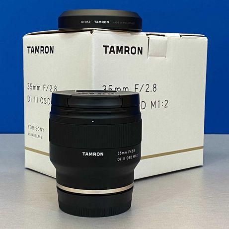 Tamron 35mm f/2.8 Di III OSD (Sony FE) - NOVA - 5 ANOS DE GARANTIA
