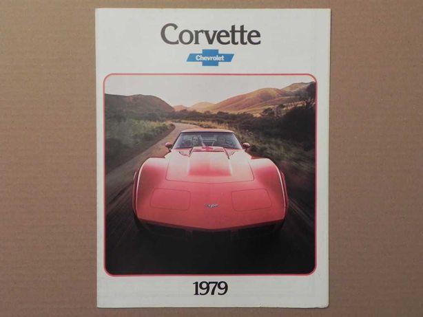 Prospekt - CHEVROLET CORVETTE C3 - 1979 r