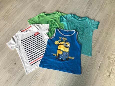 R 110/116 bluzki/T-AHORST/koszulki/ bokserka ZARA