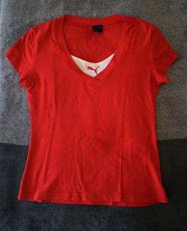 Czerwona koszulka PUMA