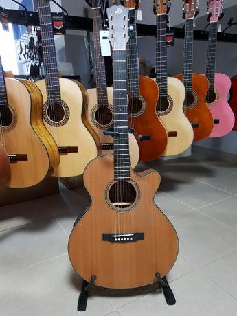Nowa gitara elektroakustyczna Dowina Rustica Grand Auditorium Pszczyna