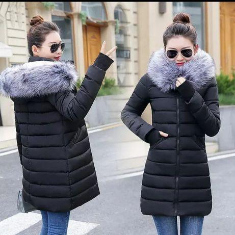 Новая куртка зимняя женская курточка, р.44