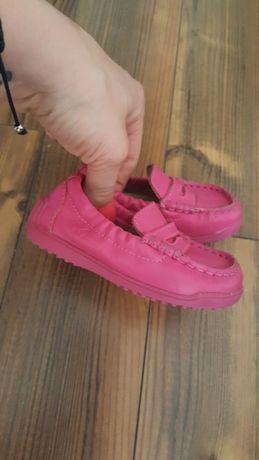 Naturino miękka skóra naturalna mokasyny dziewczęce buciki roz.20 13cm