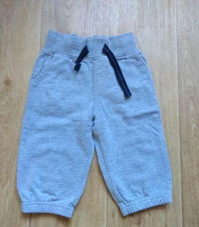 Трикотажные брюки с начесом.