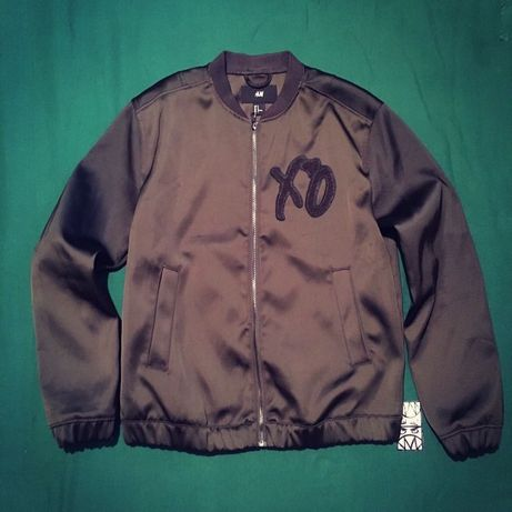 Куртка Бомбер Мерч XO by The Weeknd X H&M Jacket Rare Off Оригинал