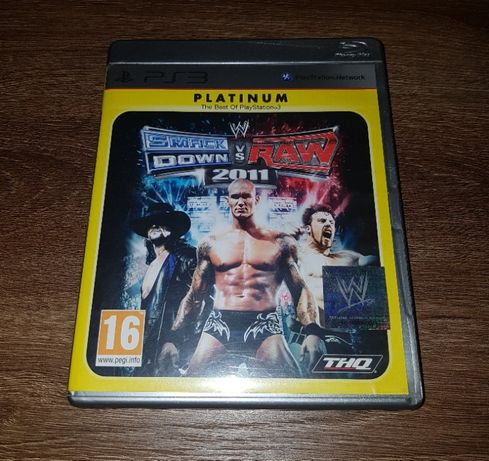 WWE SmackDown vs. Raw 2011 Platinum Edition na PS3