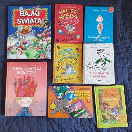 zestaw książek dla dzieci bajki