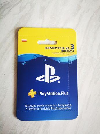 PlayStation Plus Ps+ 3 miesiące subskrypcja