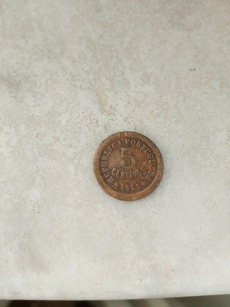 Moeda 5 centavos 1925