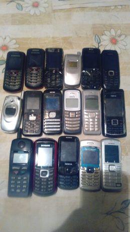 Моб телефоны рабочие и нет