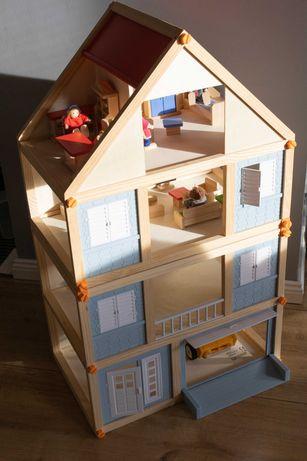 Zestaw - dwa domki drewniane Playtive