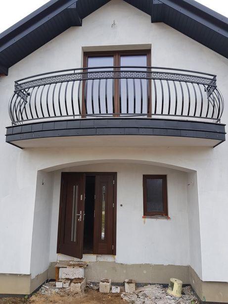 Balustrada balkonowa wzór grecki