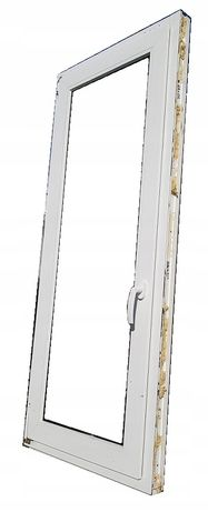 okna kacprzak okno pcv 68x158 używane plastikowe