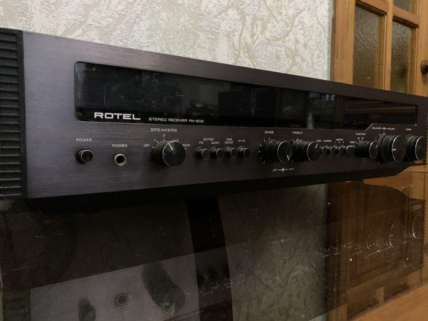 Rotel retro stereo receiver rx-602