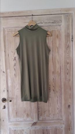 Vintage sukienka z golfem rozmiar M