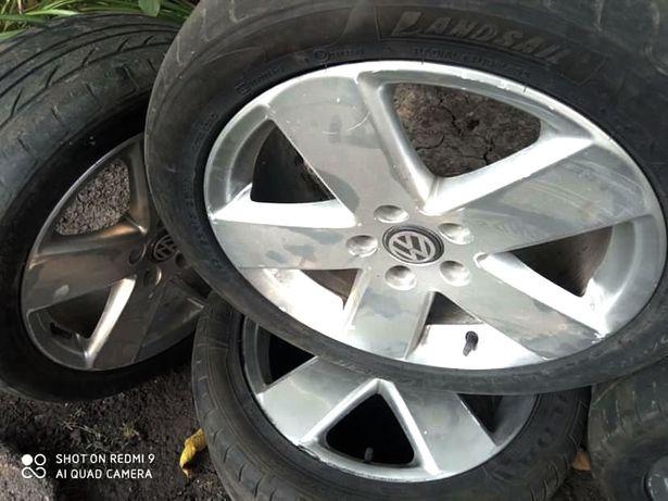 Оригинальные диски Volkswagen 5/112 R17 7.5