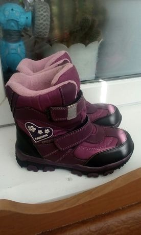 Сапожки сапоги ботинки зимние 30рр
