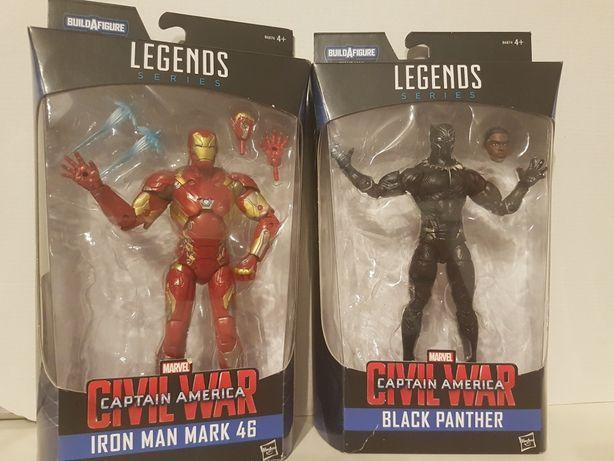Marvel Legends Civil War e Gamerverse