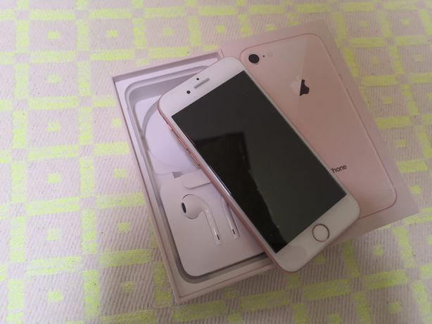 iPhone 8 rosa 64Gb irrepreensível