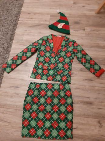 strój karnawałowy kostium Elf Pani Elf roz. 38/40 M