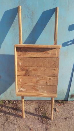 Строительные носилки деревянные