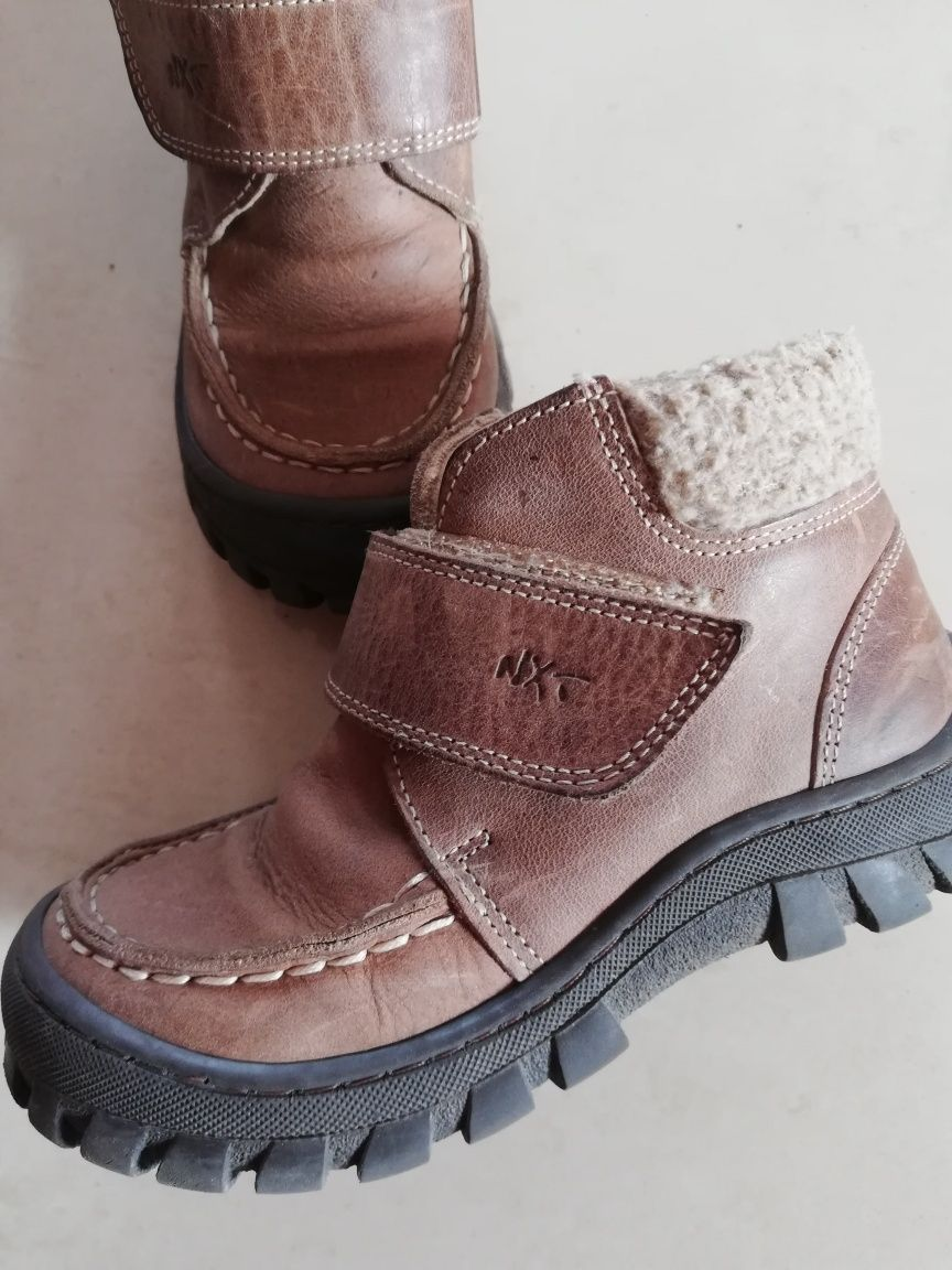 Zimowe buty Next dla chłopca rozm 26,5