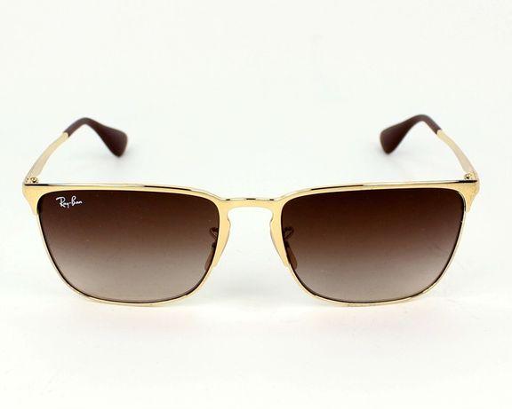 Ray-ban okulary przeciwsłoneczne zlote oryginalne pudelko itd