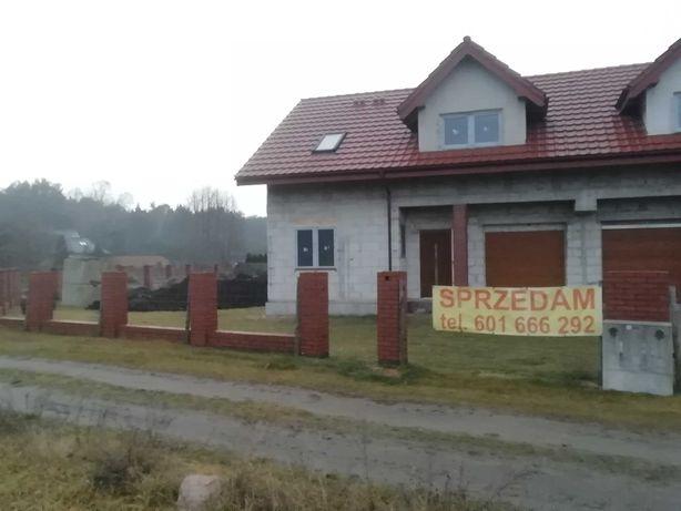 Dom w budowie,stan surowy zamknięty Zamość k/ Bydgoszczy