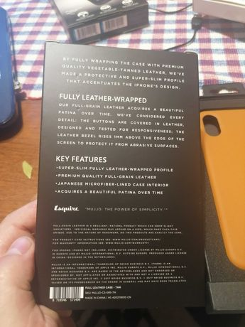 Skórzany Case do iPhone X