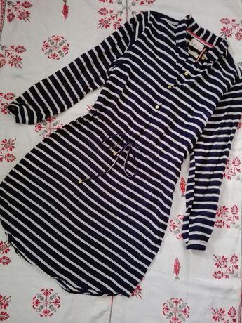 Платье-рубашка в полоску Lindex