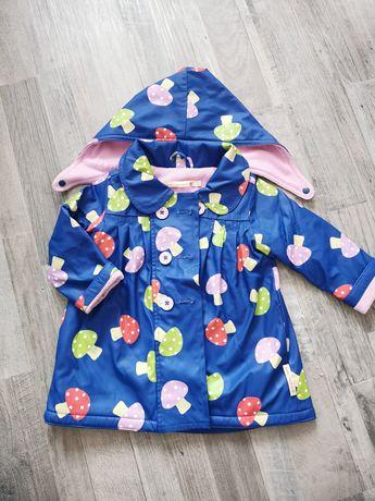 Płaszcz płaszczyk płaszczobluza przeciw deszczowa 2-3 lata 98cm