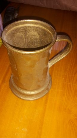 Puchar Kufel Dzbanek Mosiądz