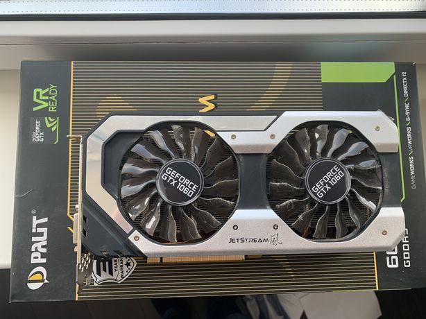 Geforce gtx 1060 6gb palit jet stream