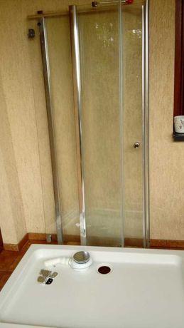 Kabina prysznicowa brodzik 120x80 z syfonem komplet