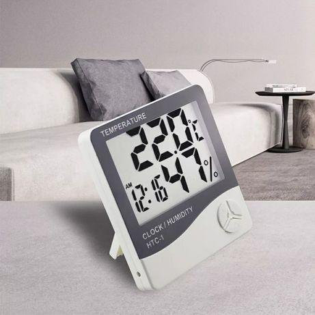 Часы +гигрометр +термометр.
