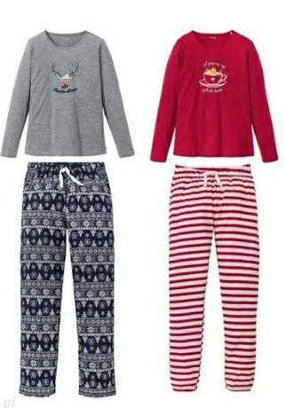 NOWA piżama damska 100% bawełna rozmiar S 36/38