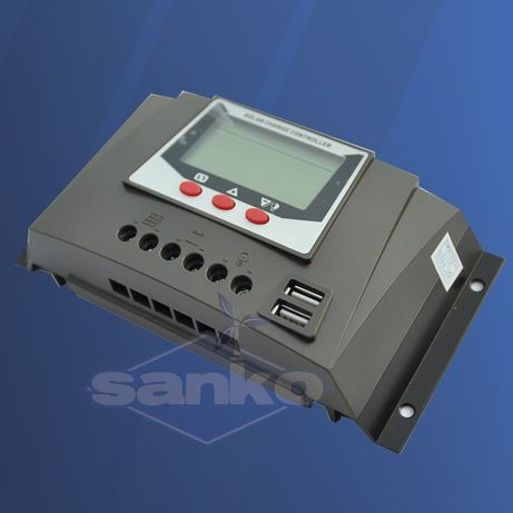 Regulator ładowania WP35 30A 12/24V LCD