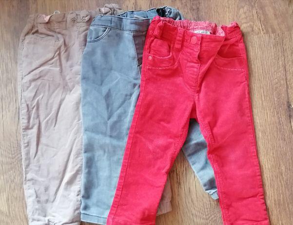 Spodnie 86 dla dziewczynki
