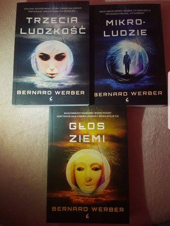 """""""Trzecia ludzkość"""" """"Mikro-ludzie"""" i """"Głos ziemi""""  Bernard Werber"""